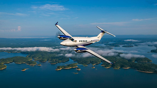King Air 260 debuts