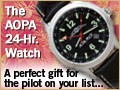 AOPA 24-Hour Watch from Sporty's