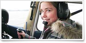 262 female flights at Oshawa airport
