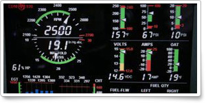 New avionics in the AOPA 2011 Crossover Classic