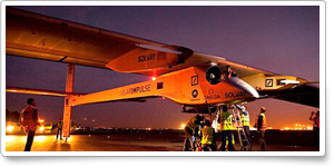 Solar Impulse makes international flight