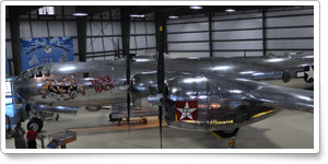 "Boeing B-29A Superfortress ""Jack's Hack"" at New England Air Museum"
