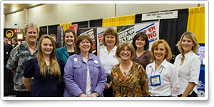 Women Airport Support Network members meet at WAI conference