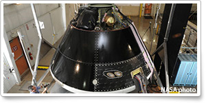 Orion manned spacecraft