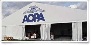 Bring prospective pilots to the AOPA Tent at AirVenture