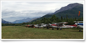 Resuming the Jouney: Alaska mountain flying