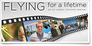 'Flying for a Lifetime' fall safety seminar debuts
