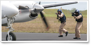 Fresh reports of aircraft searches