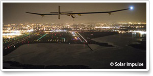 Solar Impulse lands early at JFK after wing tear