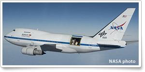 NASA 747 scans southern sky