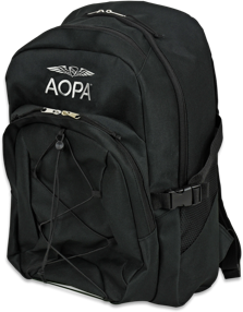 AOPA backpack