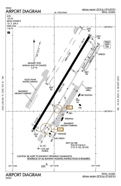 PAEN (Kenai Municipal) airport diagram